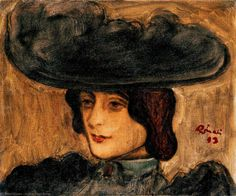 jozsef rippl ronai - Google Search Asian Hair Ornaments, Post Impressionism, Old Art, French Art, Watercolor And Ink, Figure Painting, Art Oil, Contemporary Artists, Art History