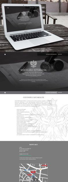 Strona internetowa kancelarii notarialnej notariuszlask.pl