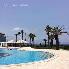 Yay! We just found the paradise!🌴 - 이곳이 바로 파라다이스! - #loveswimming #travelling #dayoff #holidays #regram #Jeju #Haevichi #Hyundai