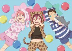 Free! Iwatobi Swim Club - Little Kisumi, little Rin, and litttle Sosuke : Part 1 / 2
