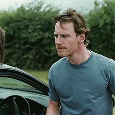 """I'm a lover, not a dancer."" Michael Fassbender --  gifs"