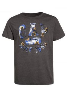 GAP - T-shirts print - soft black