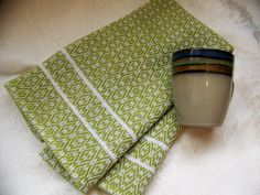 Custom Handwoven Towel  Pick your Colors Dish Tea by KnitSpinLove, $19.00