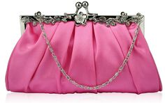 Wholesale Pink Crystal Evening Clutch Bag