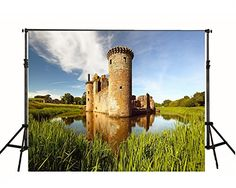 Purchase Green Meadow Pond Castle Ruins Photography Backdrop Nature Photo Background from Felix Honey on OpenSky. Castle Backdrop, Indoor Shooting, Castle Ruins, Photo Backgrounds, Nature Photos, Monument Valley, Pond, Fantasy Art, Digital Prints