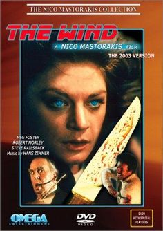 'A terrifying experience…' The Wind – better known internationally as The Edge of Terror – is a 1986 American horror film directed by Nico Mastorakis (Grandmother& Meg Foster, Mahima Chaudhry, Sonu Kakkar, Bollywood Movie Songs, Latest Hindi Movies, Kumar Sanu, Song Hindi, Movie Previews, Epic Movie