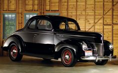 1940 Ford Deluxe Club Coupe