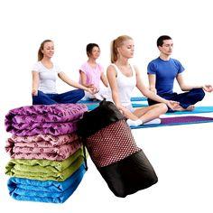 NEW Non-Slip Yoga Mat Cover Towel