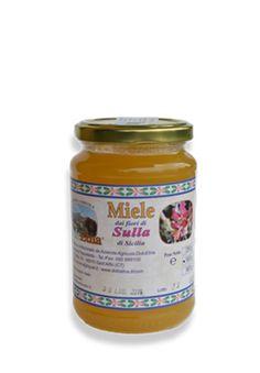 Miele vergine integrale dei fiori di Sulla