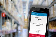 Cap3 entwickelt Sicherheits-App für Arbeiten im Hochregallager - http://www.logistik-express.com/cap3-entwickelt-sicherheits-app-fuer-arbeiten-im-hochregallager/