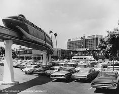 The monorail, with its extension to the Disneyland Hotel, opened to the public on June 11, 1961.