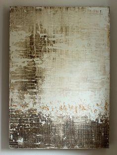 "Saatchi Online Artist: CHRISTIAN HETZEL; Acrylic 2013 Painting ""texture residues"""