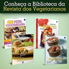 LIVROS DE RECEITAS VEGETARIANAS!