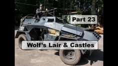 Motorcycle Trip to Mongolia Yamaha XT 660 Z - Wolf's Lair, Hitler's bunker in Poland - Part 24 Wolf's Lair, Motorcycle Travel, Mongolia, Bunker, Yamaha, Poland, Monster Trucks, Castle, Castles