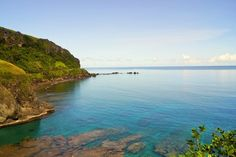 """Clear waters of Batanes"""