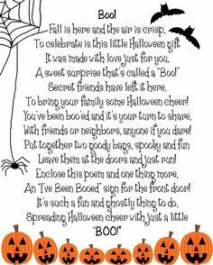 Boo Poem { liked by @cocolilymagazine.com } #halloween