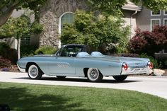 My 1963 Ford Thunderbird Sports Roadster