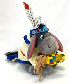 "Retired Disney Winnie the Pooh Native American Indian Eeyore 7"" Plush Bean Bag Doll Mint with Tags Disney http://www.amazon.com/dp/B003C8NY96/ref=cm_sw_r_pi_dp_wDyMvb06T6YEX"