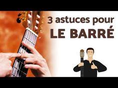 Garder les doigts près du manche de la guitare (+ exercices) - YouTube