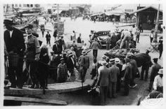 Dorothy Burr Thompson Πειραιάς λιμάνι επιβίβαση στο ATHENA S περ.δεκαετία 20