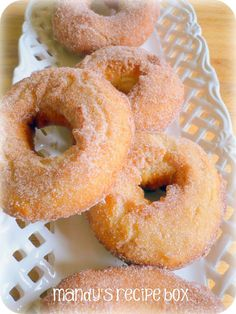 no yeast fried doughnuts