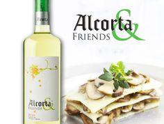 Lasaña de quesos y champiñones, ¡Alcorta & Friends!