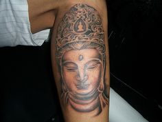 If you're thinking about getting a Buddha tattoo designs, you've come to the right place. Here you will find most beautiful Buddha tattoos for inspiration. Buddha Tattoos, Buddha Tattoo Design, Gautama Buddha, Japanese Tattoo Designs, Tattoo Designs Men, Japanese Tattoos, Head Tattoos, Sleeve Tattoos, Religion