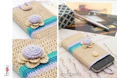 Anabelia Handmade: Smart phone crochet cover