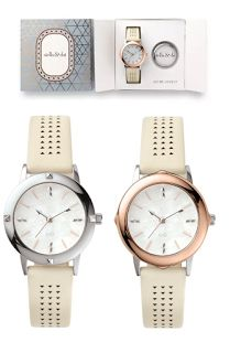 Icon Watch in Stone | Stella & Dot - NEW HOLIDAY COLLECTION!
