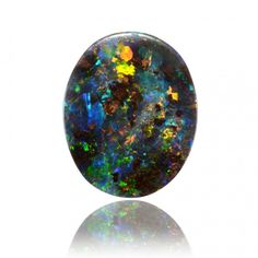 4.12ct Solid Boulder Opal by Anderson-Beattie.com