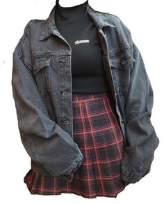 Edgy Outfits – Page 4428722970 – Lady Dress Designs Soft Grunge Outfits, Edgy Outfits, Mode Outfits, Cute Casual Outfits, Outfits For Teens, Fashion Outfits, School Outfits, Fashion Styles, Summer Outfits