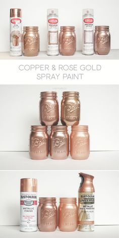looking for the best gold spray paint diy tutorials pinterest rh pinterest com