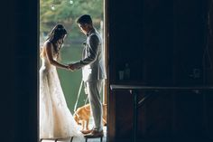 [Wedding] - Glynwood in Cold Spring, NY - Ben Lau Wedding First Look, Couture Shoes, High School Sweethearts, Nyc, Cold, Wedding Dresses, Spring, Bride Dresses, Bridal Gowns