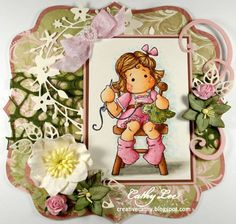 Tilda Makes a Blueberry Blanket by cathymlee - Cards and Paper Crafts at Splitcoaststampers