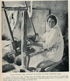 Maintaining the ancient tradition of the Cypriot loom. Cyprus Island, Cyprus Greece, Old Greek, Barn Pictures, Wild Weather, Island Nations, Old Images, Vintage Crafts, National Geographic