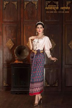 Traditional Wedding Dresses, Cambodia, Asian Girl, Ethnic, Beautiful Women, Culture, Costumes, Woman, Lady