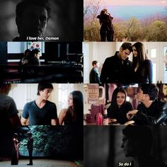 [Stelena + Delena] I feel like this doesn't match my other posts at all but q…