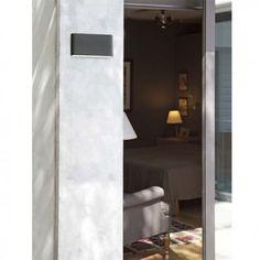 Aplique de iluminación LED. Modelo ADAY-2. Perfecto para ambientes de exterior. Aplique con iluminación en la parte inferior y superior. Comprar lámparas online.