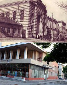 Хоральная синагога (нынешний театр А. П. Чехова). Межвоенный период и 2014 год.