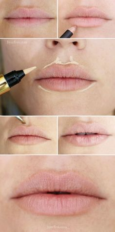 """""""I used to do this in the 1980s ... yes, it works!.......Lip plumping tutorial step by step """""""
