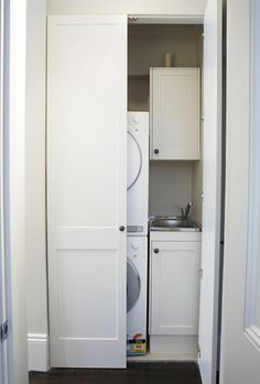 The 'European laundry' - a great piece of #creative #plumbing or a waste of space?