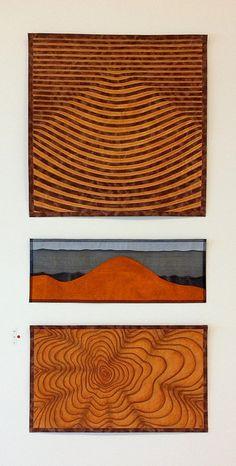 Jenny Bowker - quiltmaker and textile artist - Postcards Quilting Designs, Quilt Design, Quilting Ideas, Textile Patterns, Textiles, Landscape Quilts, Contemporary Quilts, Mini Quilts, Textile Artists