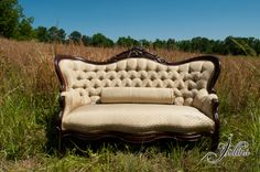 Beautiful antique couch!