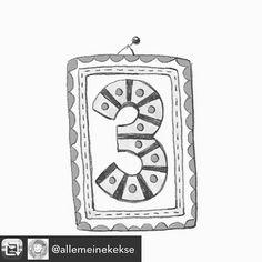 Folgen Sie bitte alle der wunderbaren @allemeinekekse  da gibts den süßesten Adventskalender! Sogar in Farbe! #advent #adventskalender #illustrator #empfehlungdestages