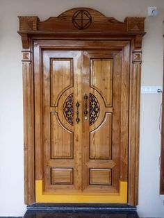 Home Door Design, Wooden Main Door Design, Double Door Design, Washbasin Design, Inside Barn Doors, Tv Unit Design, Wooden Doors, Glass Design, Pictures Images