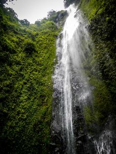 San Ramon Waterfall on Ometepe Island, Nicaraguan