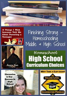 Finishing Strong ~ Homeschooling the Middle & High School Years #25