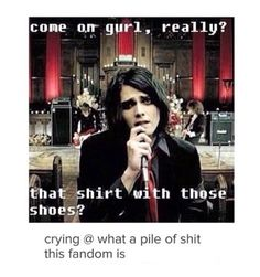 hey, this fandom is the pile of shit you would not mind stepping on.<< it's a fabulous pile of shit