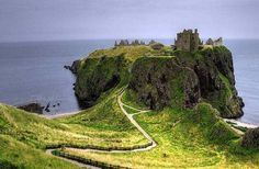 Scotland. For their accents and beautiful landscapes.