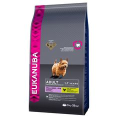 Animalerie  Eukanuba Adult Small Breed poulet pour chien  2 x 75 kg